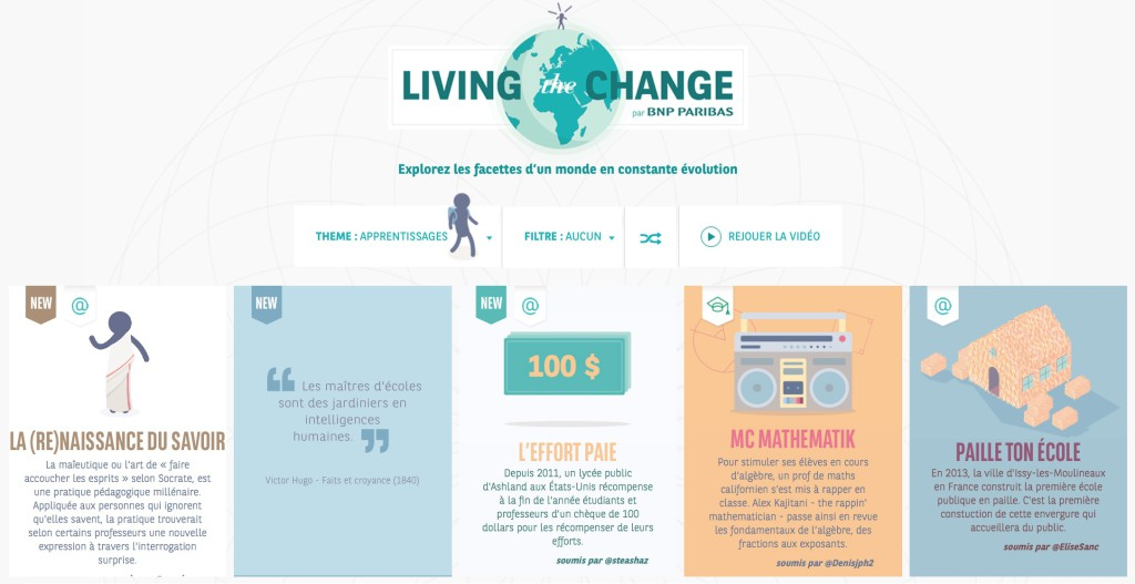 Living the change - BNP PARIBAS
